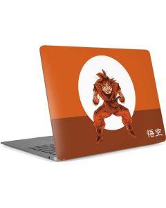 Goku Orange Monochrome Apple MacBook Air Skin