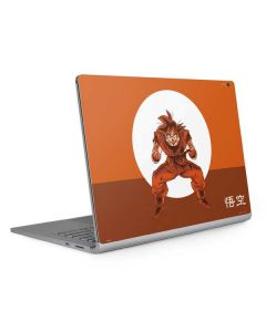 Goku Orange Monochrome Surface Book 2 13.5in Skin