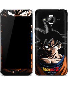Goku Portrait Galaxy J3 Skin