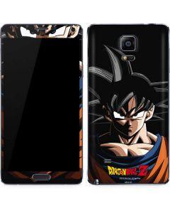 Goku Portrait Galaxy Note 4 Skin