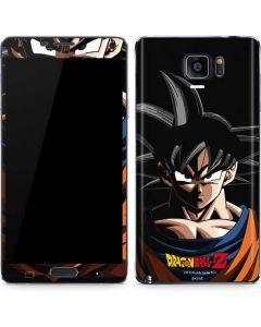 Goku Portrait Galaxy Note5 Skin