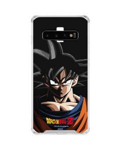 Goku Portrait Galaxy S10 Clear Case