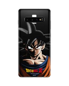 Goku Portrait Galaxy S10 Plus Skin