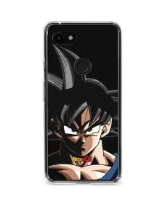 Goku Portrait Google Pixel 3a XL Clear Case