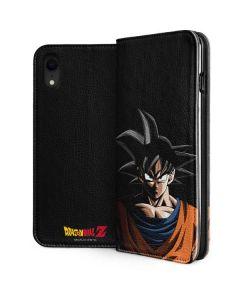 Goku Portrait iPhone XR Folio Case