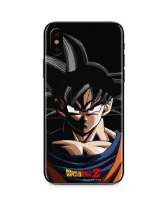Goku Portrait iPhone XS Skin