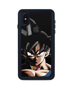 Goku Portrait iPhone XS Waterproof Case