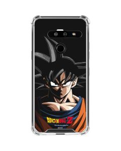 Goku Portrait LG G8 ThinQ Clear Case