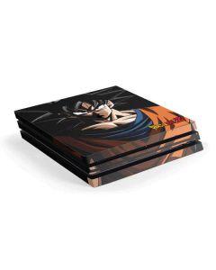 Goku Portrait PS4 Pro Console Skin