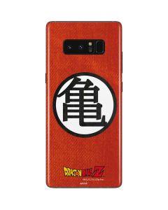 Goku Shirt Galaxy Note 8 Skin