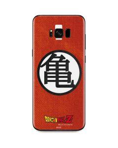 Goku Shirt Galaxy S8 Skin