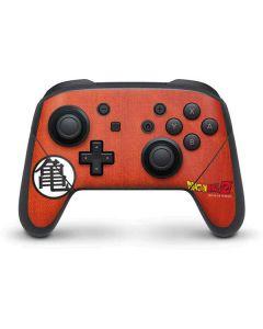 Goku Shirt Nintendo Switch Pro Controller Skin