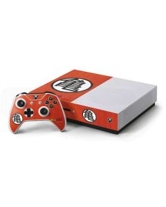 Goku Shirt Xbox One S Console and Controller Bundle Skin