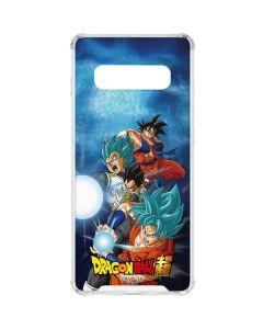 Goku Vegeta Super Ball Galaxy S10 Clear Case