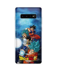 Goku Vegeta Super Ball Galaxy S10 Plus Skin