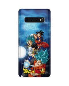 Goku Vegeta Super Ball Galaxy S10 Skin
