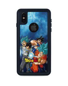 Goku Vegeta Super Ball iPhone XS Waterproof Case