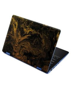 Gold and Black Marble Aspire R11 11.6in Skin