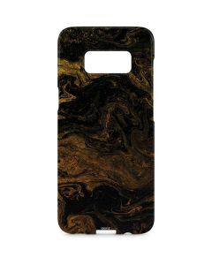 Gold and Black Marble Galaxy S8 Plus Lite Case