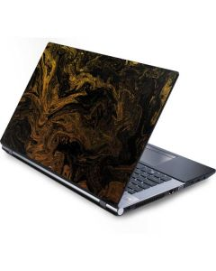 Gold and Black Marble Generic Laptop Skin