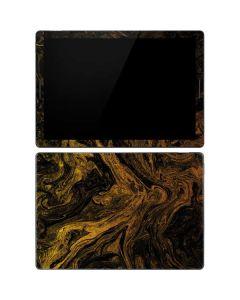 Gold and Black Marble Google Pixel Slate Skin