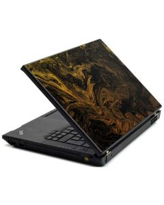 Gold and Black Marble Lenovo T420 Skin