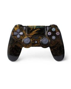 Gold and Black Marble PS4 Pro/Slim Controller Skin