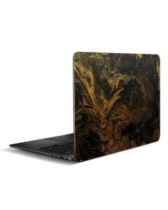 Gold and Black Marble Zenbook UX305FA 13.3in Skin