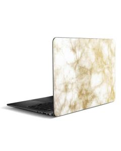 Gold and White Marble Zenbook UX305FA 13.3in Skin