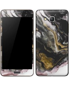 Gold Blush Marble Ink Galaxy Grand Prime Skin