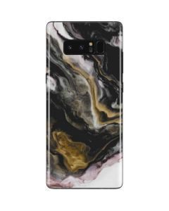 Gold Blush Marble Ink Galaxy Note 8 Skin