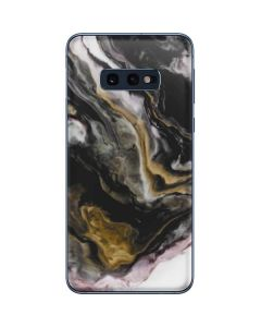 Gold Blush Marble Ink Galaxy S10e Skin