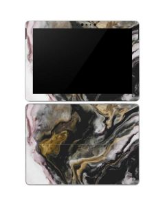 Gold Blush Marble Ink Surface Go Skin