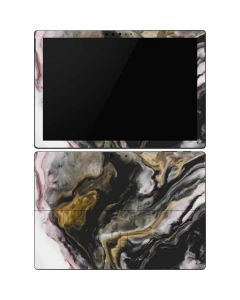 Gold Blush Marble Ink Surface Pro 6 Skin