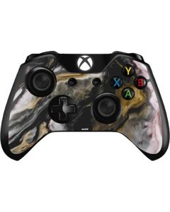 Gold Blush Marble Ink Xbox One Controller Skin