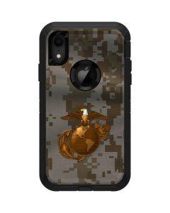 Gold Earth Marine Camo Otterbox Defender iPhone Skin