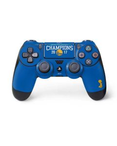 Golden State Warriors 2017 Champions PS4 Pro/Slim Controller Skin