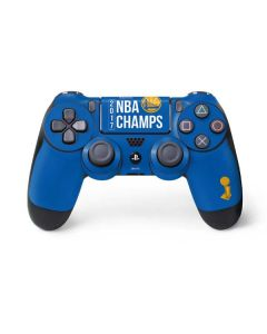 Golden State Warriors 2017 NBA Champs PS4 Controller Skin