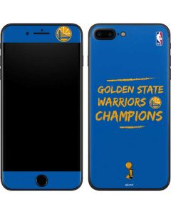 Golden State Warriors 2018 Champions iPhone 7 Plus Skin