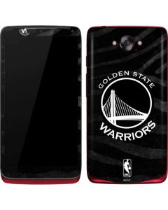Golden State Warriors Black Animal Print Motorola Droid Skin