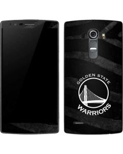 Golden State Warriors Black Animal Print G4 Skin