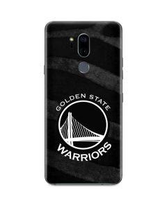 Golden State Warriors Black Animal Print G7 ThinQ Skin
