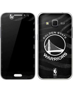 Golden State Warriors Black Animal Print Galaxy Core Prime Skin
