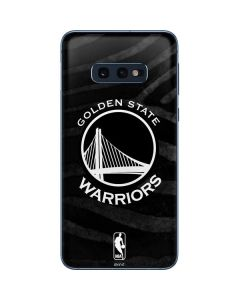 Golden State Warriors Black Animal Print Galaxy S10e Skin