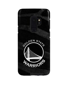Golden State Warriors Black Animal Print Galaxy S9 Plus Pro Case