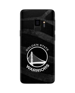 Golden State Warriors Black Animal Print Galaxy S9 Skin