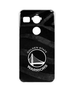 Golden State Warriors Black Animal Print Google Nexus 5X Clear Case