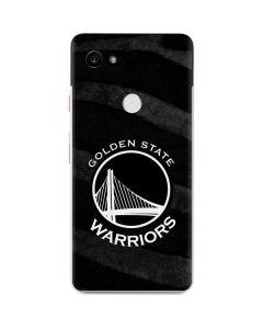 Golden State Warriors Black Animal Print Google Pixel 2 XL Skin