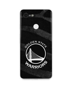 Golden State Warriors Black Animal Print Google Pixel 3 Skin