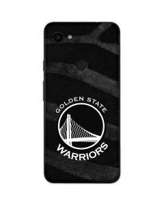 Golden State Warriors Black Animal Print Google Pixel 3a Skin